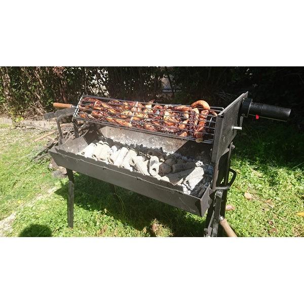 Σχάρα Περιστρεφόμενη 70 εκ από Ανοξείδωτο Ατσάλι S304 barbeque
