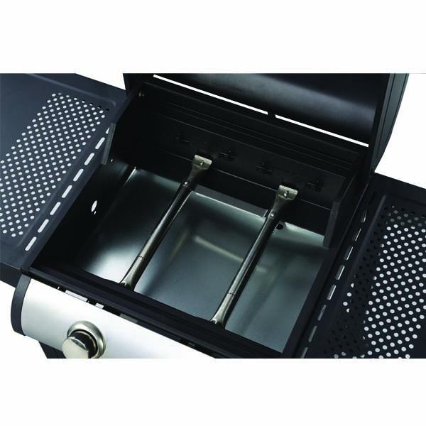 Ψησταριά Υγραερίου BASIC με 2 καυστήρες και πλαϊνά ράφια 661311 661311