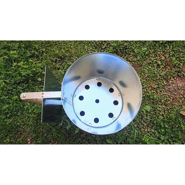 Δοχείο Εκκίνησης Φωτιάς XL με ξύλινη λαβή 32 Χ 25 εκ. άναμμα για κάρβουνα
