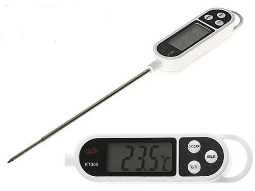 Θερμόμετρο Ψηφιακό Ακίδας για Μπάρμπεκιου ανοξείδωτο θερμόμετρο