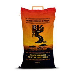 Κάρβουνα Κούβας MARABU THE BIG 5 ΣΙΔΕΡΗΣ 5 κιλά charcoal