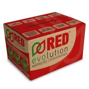 Μπριγκέτες RED EVOLUTION 10 κιλά bbq