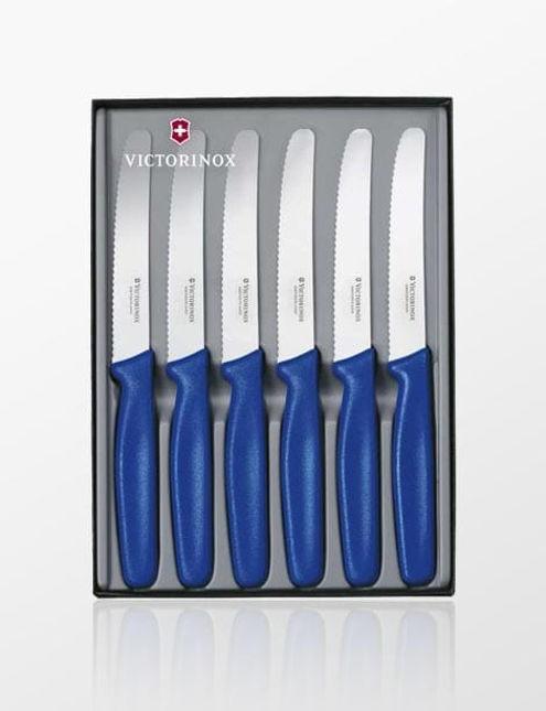 Σετ Μαχαίρια VICTORINOX για Μπριζόλα (Steak Knives) inox
