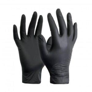 Γάντια Νιτριλίου Μαύρα γάντια κουζίνας