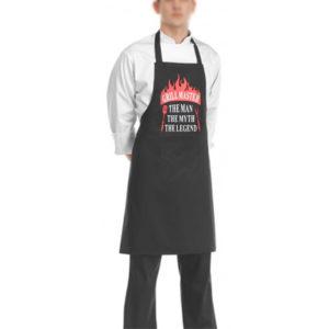 """Ποδιά Μαγειρικής-Μπάρμπεκιου """"Grill Master"""" εργαλεία μπάρμπεκιου"""