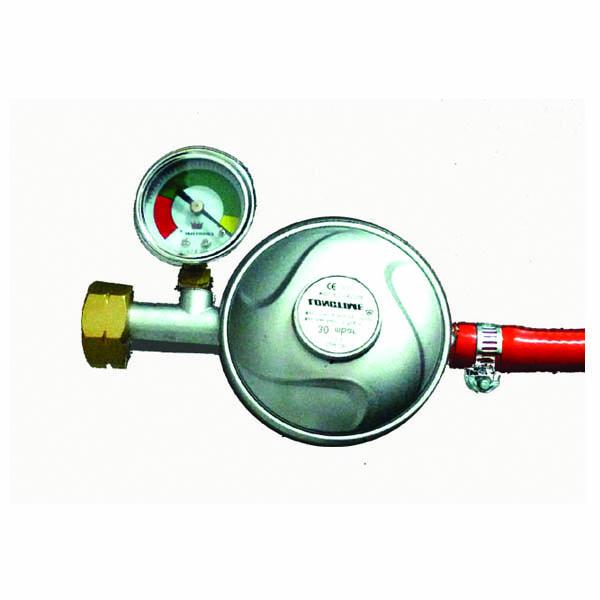Ρυθμιστής Υγραερίου με Μανόμετρο gas level indicator