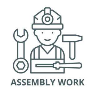 Υπηρεσία Συναρμολόγησης για Ψησταριές BASIC και TREND εργασία συναρμολόγησης