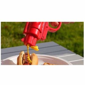 Εκτοξευτής Σαλτσών για Κέτσαπ και Μουστάρδα barbeque hot dot