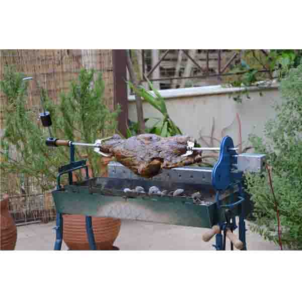 Πιρούνα Δίχαλο Ανοξείδωτο Κοκορετσίου barbeque
