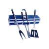 Σετ BBQ με 3 Εργαλεία Ψησίματος σε Κασετίνα Αλουμινίου εργαλεία bbq