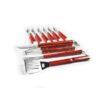 Σετ BBQ με 16 Εργαλεία Μπάρμπεκιου σε Κασετίνα Αλουμινίου εργαλεία gas