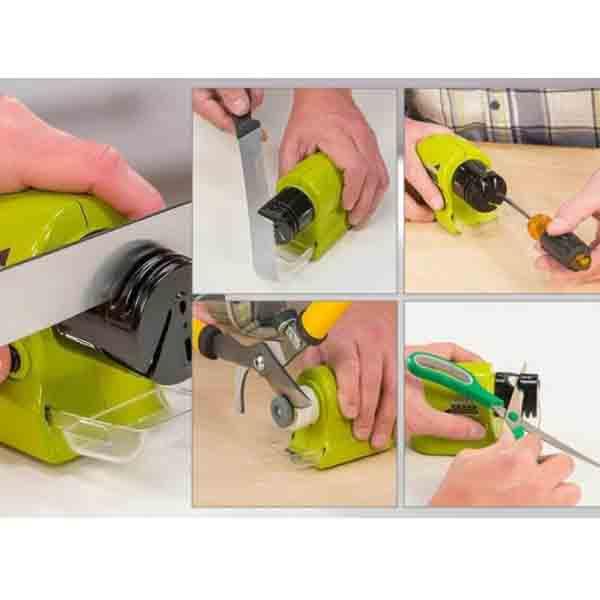 Ηλεκτρικό Ακονιστήρι Κουζίνας για Μαχαίρια και Ψαλίδια – Swifty Sharpender knife