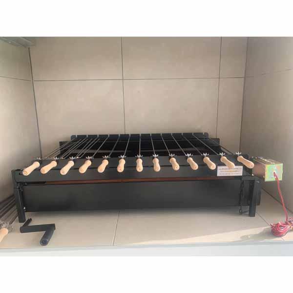 Ψησταριά Κυπριακή Φουκού AIANTAS με μανέλα 100X50 εκ ΑΙΑΝΤΑΣ