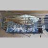 Σχάρα Περιστρεφόμενη 70 Χ 20 εκ από Ανοξείδωτο Ατσάλι S304 ανοξείδωτη σχάρα καρέ